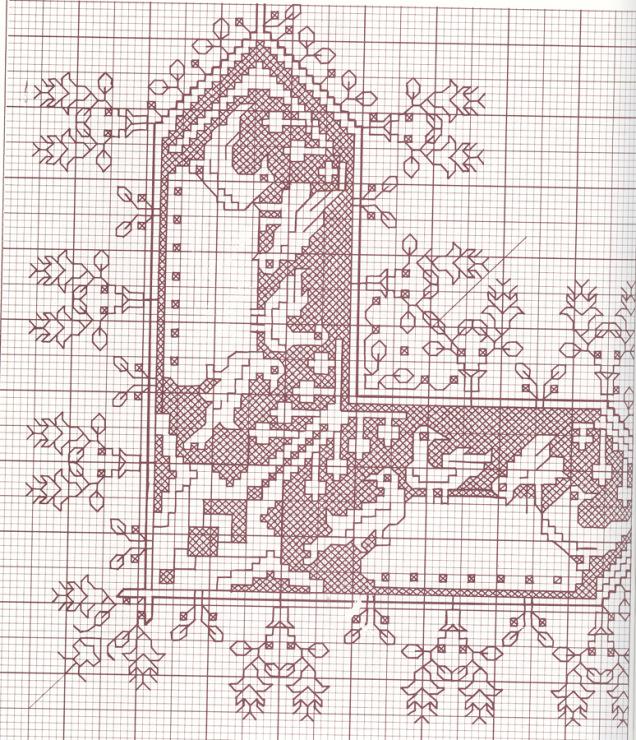 Ассизи схемы вышивки 32
