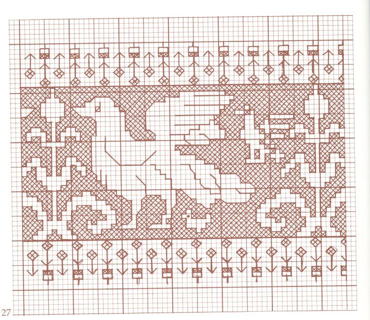 Ассизи схемы вышивки 52
