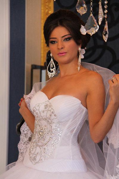свадебные прически 2012 в баку