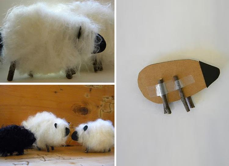 Как сделать овечку