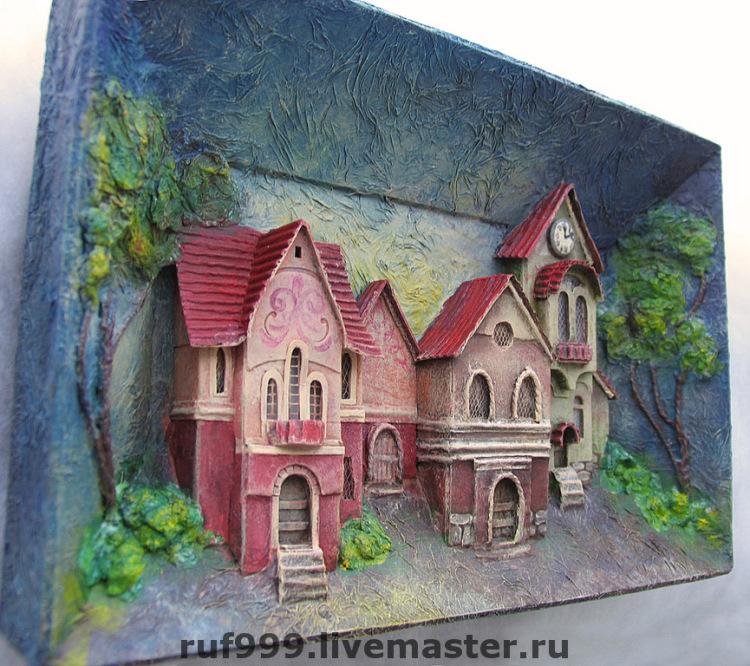Картины из картона
