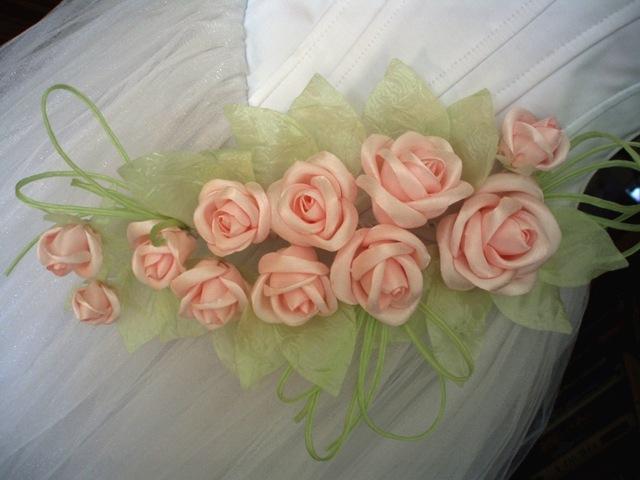 Цветы из вуали своими руками мастер класс для начинающих