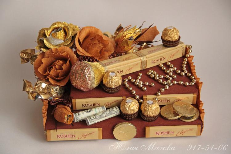 легкий как сделать конфеты в подарок тематические внимание, что поиск