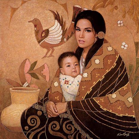 мама и сын индец фото