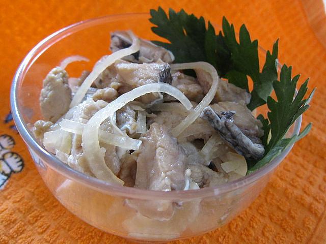 Рыба хе по-корейски из толстолобика