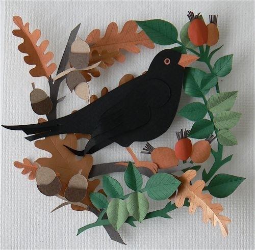 Поделка птиц для детского сада - Поделки для дачи. Поделки для сада и огорода
