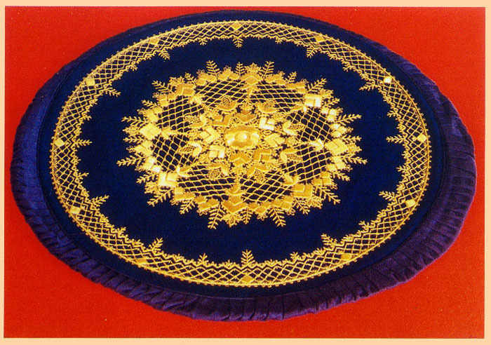 Торжокское золотое шитье фото