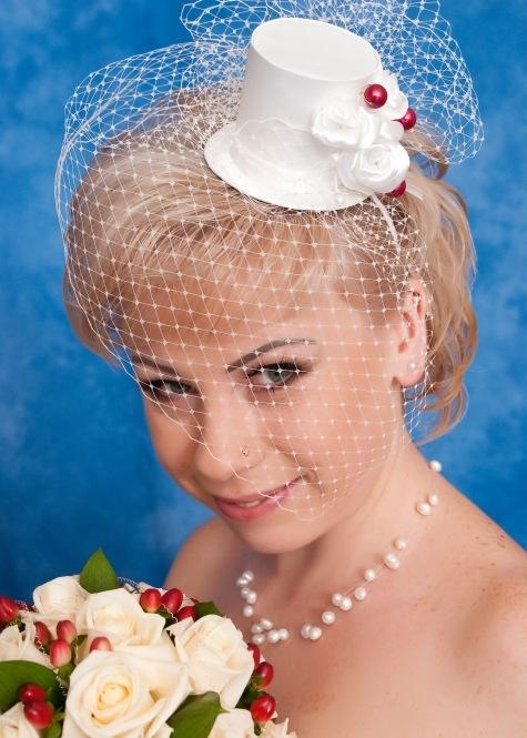 Шляпка для свадьбы своими руками