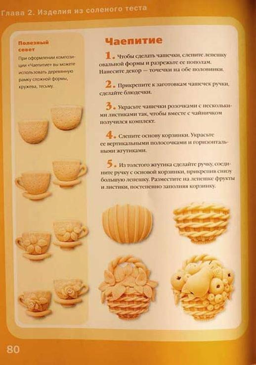 Солёное тесто рецепт для лепки для детей поделки 39