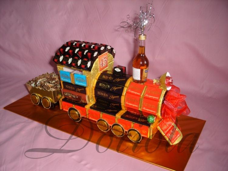 Что подарить на день железнодорожника своими руками