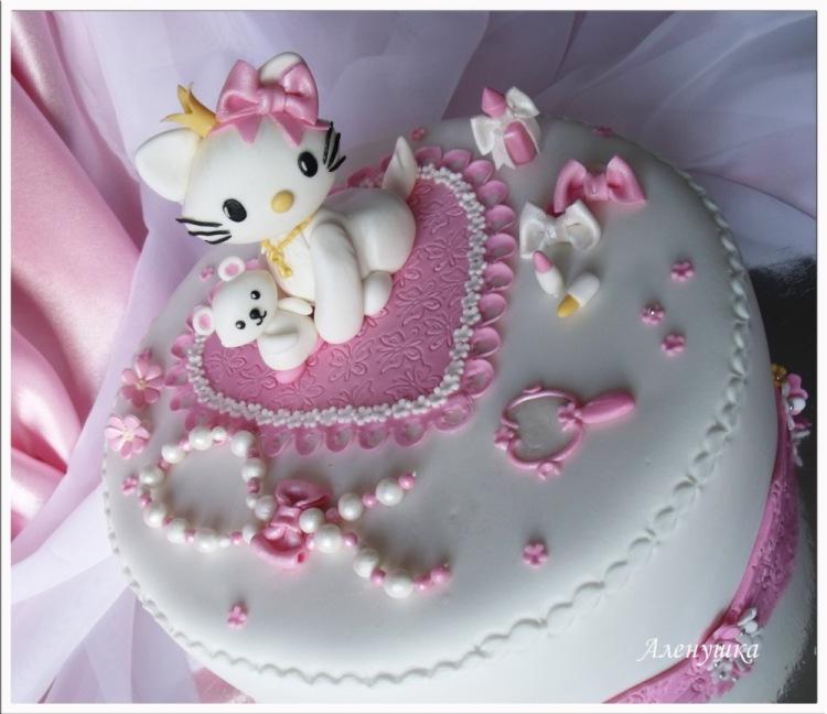 детский торт на 2 года фото
