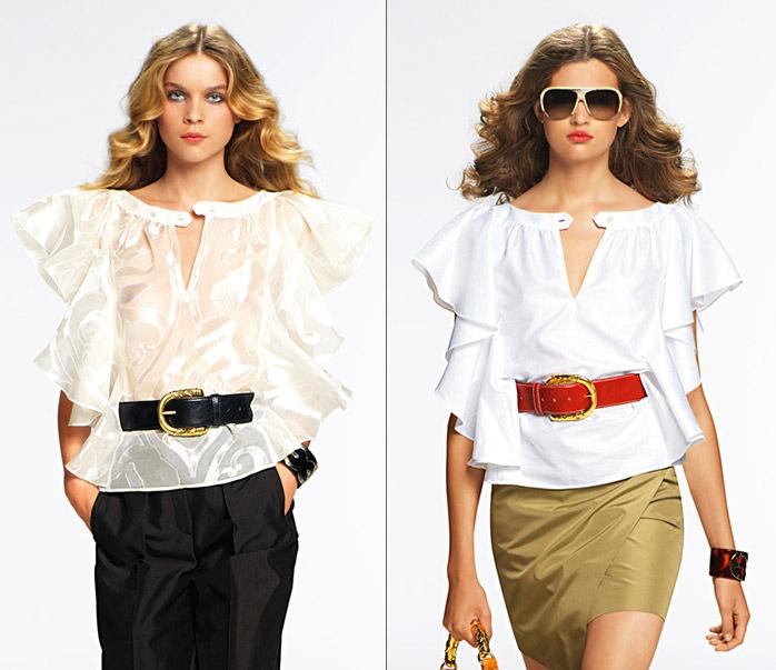 Модные блузки из шифона своими руками 37