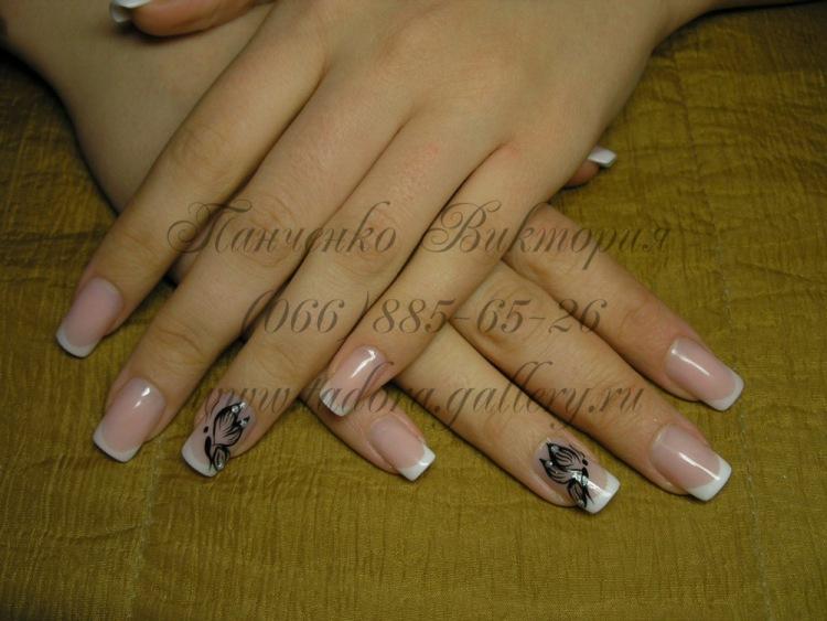 Красивые длинные ногти нарощенные