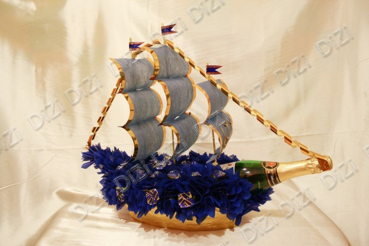 Стих к подарку корабль из денег 590