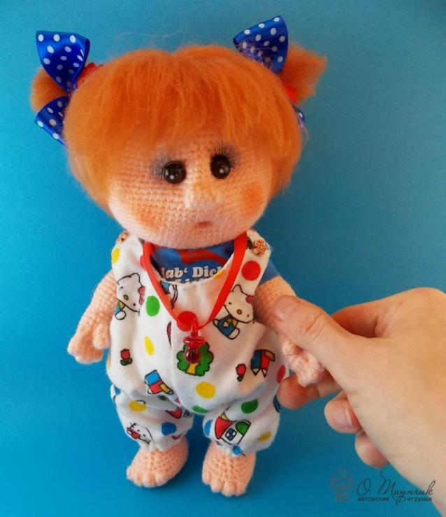 Как связать хороших кукол