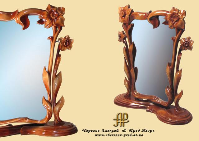 Резьба по дереву своими руками зеркало - Твой рабочий стол