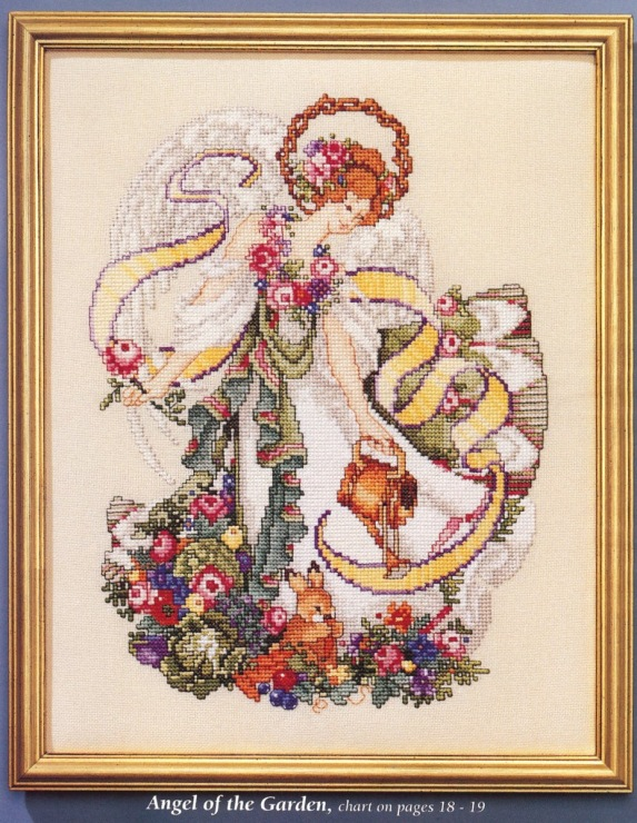 Arts beautiful cross stitch blooms counted cross stitch pattern pattern - free patterns