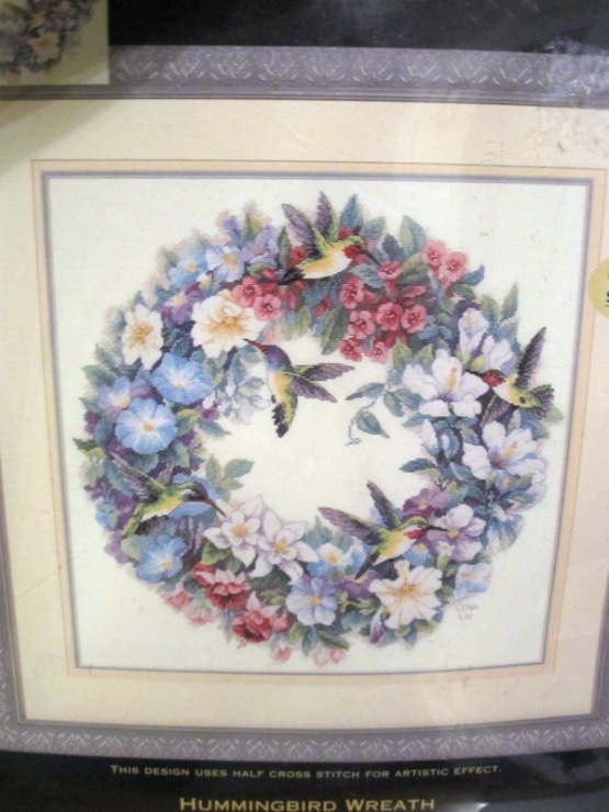 Hummingbird wreath dimensions схема