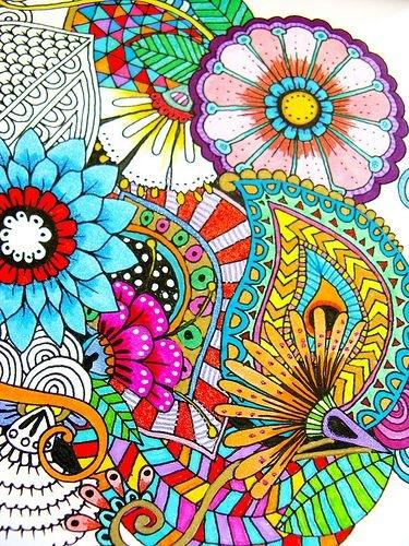 Фото раскраска разноцветная