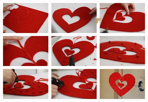 Оригинальные сердца своими руками 41