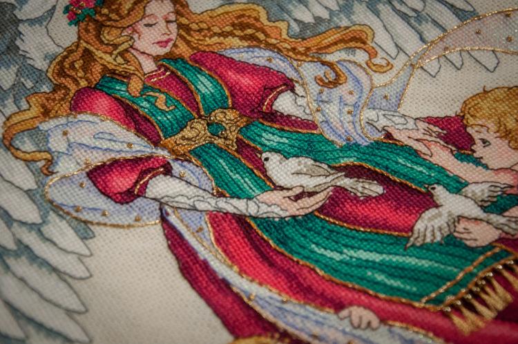 Все ангелы вышивки дименшенс 104