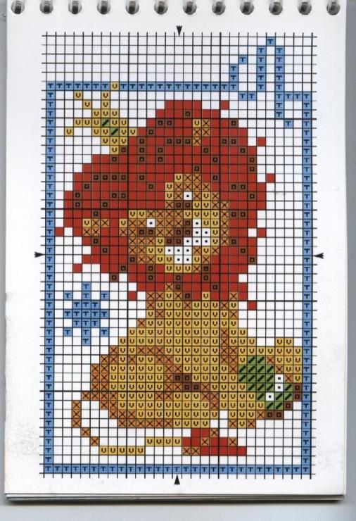 Вышивка крестом схема знаки зодиака льва